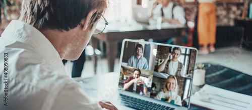 Obraz na plátně Office business team concept