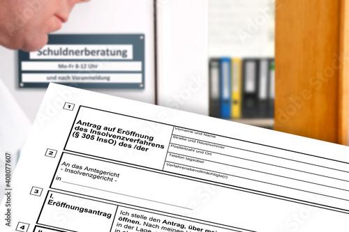 Fényképezés Schuldnerberatung