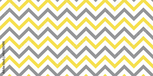seamless-zigzag-pattern-banner-vector-illuinating-yellow-and-ultimate-gray-color