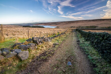 Scenery In Calderdale, West Yorkshire, South Pennines