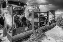 Rustic Desert Truck