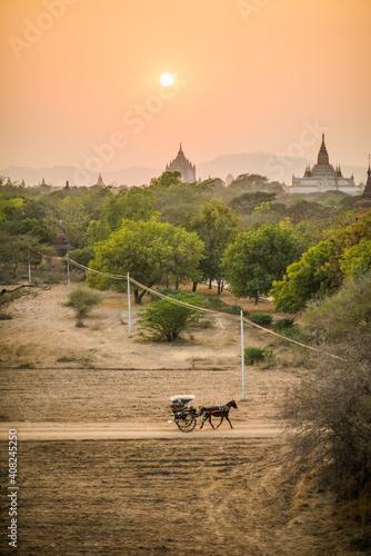 Obraz Myanmar Bagan - fototapety do salonu