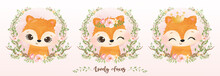 Adorable Animal Illustration For Personal Project,background, Invitation, Wallpaper And Many More