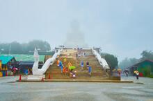 Big Buddha Of Phuket On Rainy Weather, Chalong, Thailand