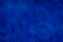 Blue Background. Abstract Dark Wall Grunge Stone Texture Material. Illustration.