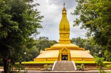 Wat Nong Pa Phong, A Thai Temple  In Ubon Ratchathani Thailand  Southeast Asi