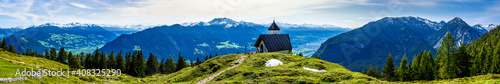 Fotografie, Obraz Inntal valley in austria