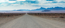 Famous Road D 707 Namibia