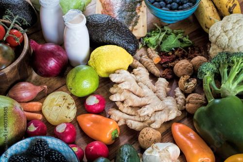 gesunde ernährung zur kräftigung des immunsystems © ArTo