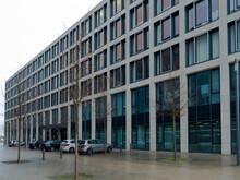 Berlin Branderburg,Germany 26 December 2020. Territory Of The New Berlin Branderburg Willy Brandt Airport,.no People During Quarantine