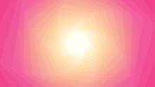 Geometrical Pink Hexagon Background