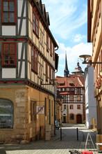Schmalkalden Ist Die Beruehmte Fachwerkstadt In Thueringen. Deutschland, Thueringen, Europa  --   Schmalkalden Is The Famous Half-timbered Town In Thuringia. Germany, Thuringia, Europe