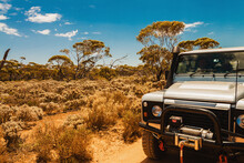 4x4 Truck In The Outback