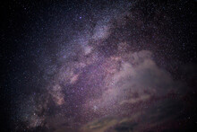 Center Of Milky Way / Close Up To Milky Way