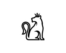 Queen Lioness With Crown