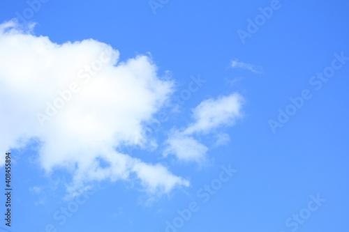 Fotografie, Obraz 雲と晴れた空