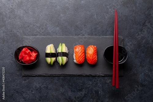 Fototapeta Japanese sushi set obraz
