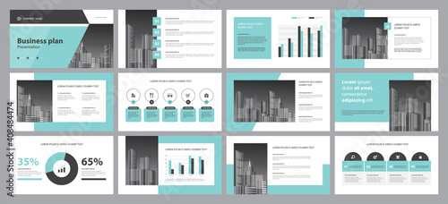 template presentation design backgrounds and page layout design for brochure, book, magazine, annual report and company profile, with info graphic elements graph design concept