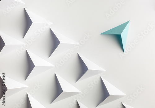 Abstract paper concepts origami Wallpaper Mural