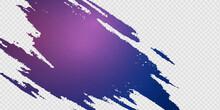 Grunge Purple Brush Stroke Effect