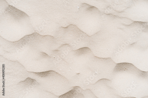 Carta da parati Copy space of sand beach texture abstract background.