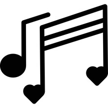 Romance Song Isolated Vector Icon That Can Be Easily Modified Or Edited