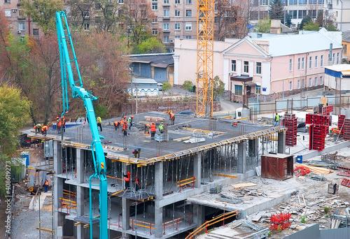 Obraz House construction site - fototapety do salonu