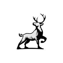 Deer Head Vector, Deer Head Icon, Vector Art.