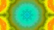 Poly Art Kaleidoscope Hypnotic Pattern Animation Footage