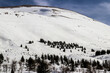 Lebanon in the winter of 2020 in the mountains