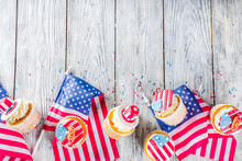 Patriotic USA Cupcakes