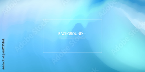 Abstract Pastel blue gradient concept for your graphic design, background or wal Wallpaper Mural