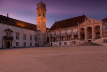 The Belltower Of The University Of Coimbra, Portugal