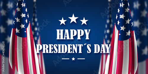 Fotografie, Obraz Happy Presidents Day