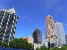 North America, United States, Georgia, Fulton County, City Of Atlanta, Peachtree Street Building