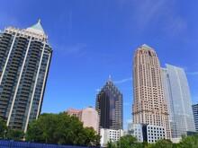 North America, United States, Georgia, Fulton County, City Of Atlanta, Peachtree Street Building