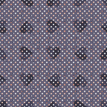Regular Polka-Dot Seamless Vector Pattern With Purple Hearts. Elegant Valentine Geometric Tiled Background. Great For Fashion, Interior Decoration, Wallpapers And Prints.