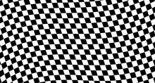 Checkered Flag. Race Background. Racing Flag  Vector Illustration