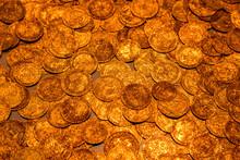Treasure Hoard Of Coins