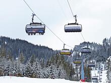 6-person Chairlift Oberdorf - Freienalp Or Sechsersesselbahn Oberdorf-Freienalp In The Obertoggenburg Region, Wildhaus - Canton Of St. Gallen, Switzerland (Schweiz)