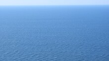 Blue Water Sea For Background. Ripple Water