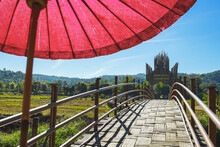 The Famous Bamboo Bridge In Mae Hong Son Zutongpae Bridge.