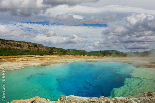 Fotografie, Tablou Yellowstone