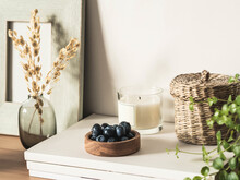 Home Still Life From Various Decorative Items