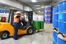 Workers In Logistics, Saxony-Anhalt, Germany