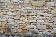 Mur En Pierres Ancien