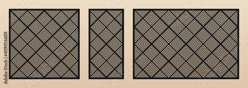 Fotografia Laser cut patterns