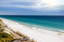 Sunny Day On Destin Beach, Florida