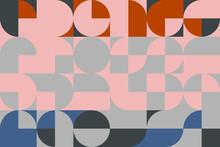 Seamless Geometric Modern Backdrop