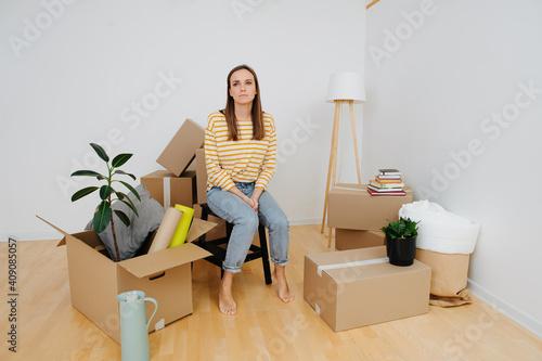 Fototapeta Housewarming